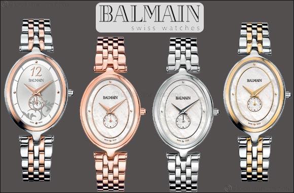 The Balmain Haute Elegance Oval mirrors the brand's soul