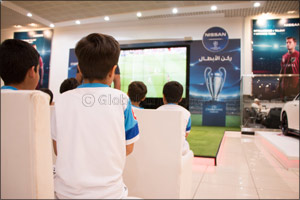 "Nissan Al Babtain Continues Support of ""ULTIMATE SOCCER ACADEMY"""