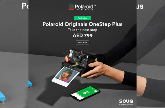 Polaroid OneStep+ available exclusively on SOUQ.com
