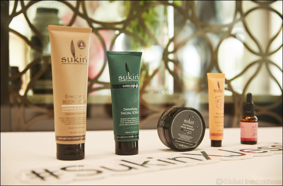 Jessica Kahawaty in Dubai to Celebrate the Launch of SUKIN, Australia's No.1 Natural Skincare Brand