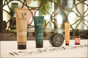 Jessica Kahawaty in Dubai to Celebrate the Launch of SUKIN, Australia's No.1 Natural Skincare Brand
