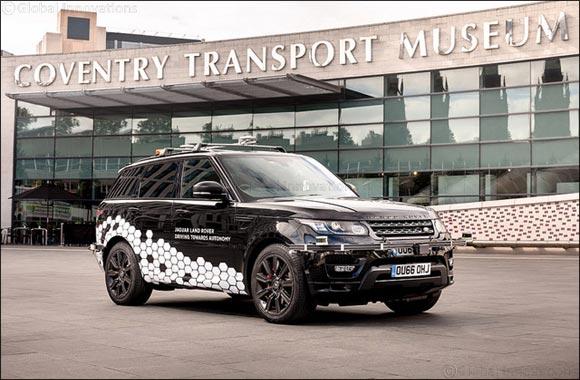 Self-driving Range Rover Runs Autonomous Rings Round Coventry