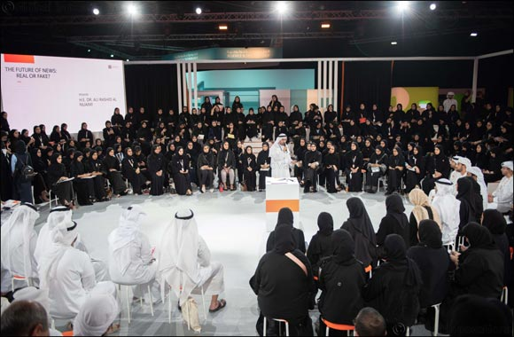 Mohamed Bin Zayed Majlis for Future Generations 2018 explores the truth about fake news