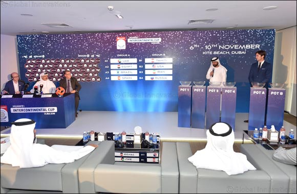 2018 Beach Soccer Intercontinental Cup draw - UAE get Brazil, Spainand Egypt