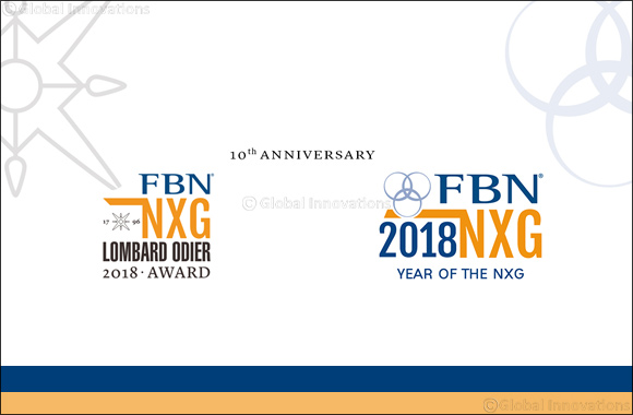FBN Next Generation Lombard Odier Award 2018 champions the next generation of entrepreneurs