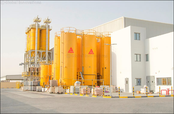 "Swiss Chemicals & Building Material Giant ""Sika"" Expands Operations in UAE with AED 40 Million State-of-the-Art Facility"