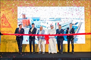 Swiss Chemicals & Building Material Giant �Sika� Expands Operations in UAE with AED 40 Million State ...