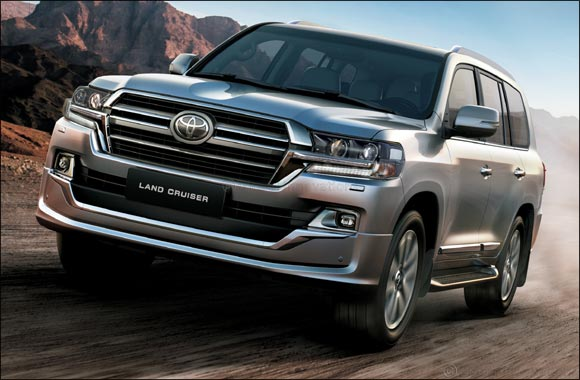 Toyota's legendary King goes urban with the 2019 Land Cruiser Grand Touring Edition