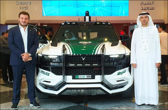 W Motors and Safe City Group introduce the BEAST PATROL at GITEX:  One of the most advanced police vehicles in the world