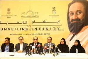 Gurudev Sri Sri Ravi Shankar to conduct �Unveiling Infinity' meditation masterclass in Dubai