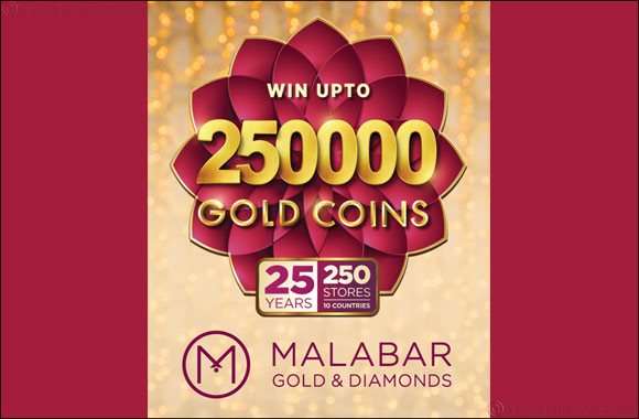 Win up to 250,000 Gold coins at Malabar Gold & Diamonds this festive season