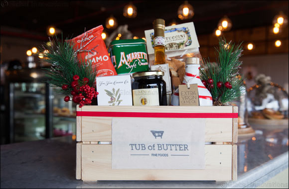 Be Thankful with Tub of Butter This Thanksgiving
