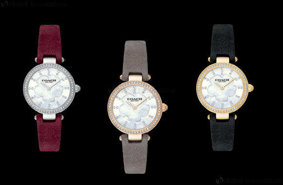 Hour Choice presents Coach Park Collection (Suede straps)