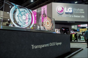 LG innovations in display to revolutionize the retail experience
