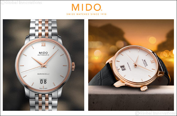 Baroncelli Big Date collection from Mido