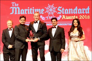 DP World, UAE Region Wins Terminal Operator of the Year at Maritime Standards Awards