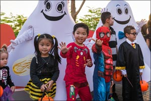 Riverland� Dubai transforms into the largest trick-or-treat destination for Halloween