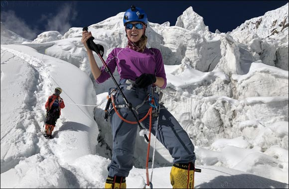 The Sustainable City's Brand Ambassador Dolores Al Shelleh sets history  as first Arab to summit Mount Manaslu