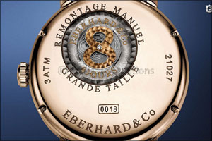 Eberhard & Co. 8 Jours Grande Taille a modern take on a classic timepiece