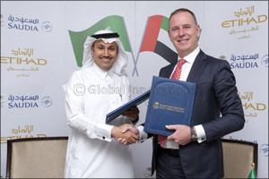 Etihad Airways and Saudi Arabian Airlines (Saudia) Announce Codeshare Partnership and Further Cooper ...