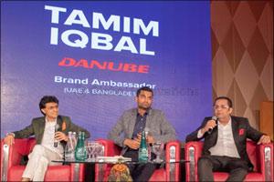Tamim Iqbal joins Danube as brand ambassador for Bangladesh