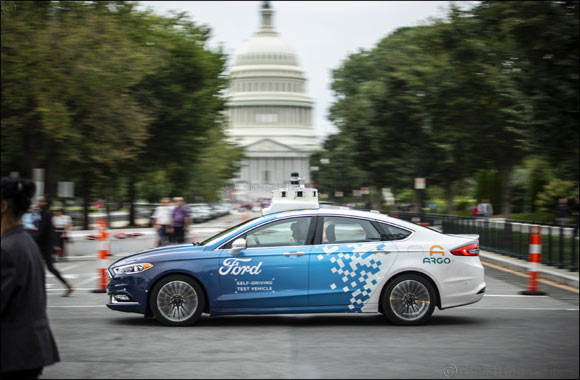 Ford's Self-Driving Business Development Expands to Washington, D.C.