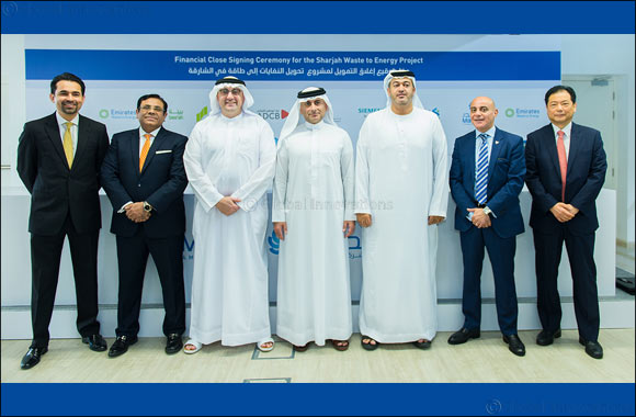 Masdar and Bee'ah reach financial close on  UAE's first waste-to-energy facility