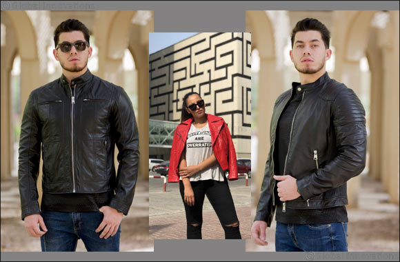 moyka the premium leather jacket brand launched online worldwide, offering maximum personalization for a unique and edgy look