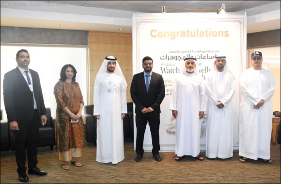 Expo Centre Sharjah honours the six winners of the MidEast Watch and Jewellery Show
