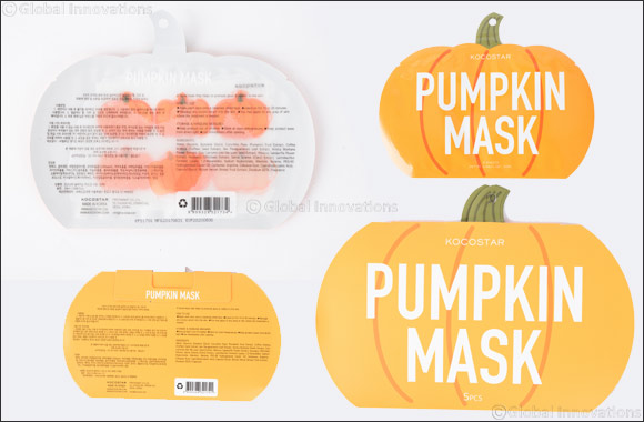Trick Or Treat With Kocostar's Limited Edition Pumpkin Mask