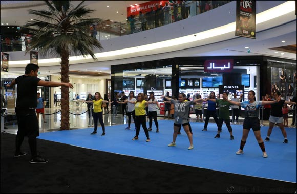 Al Ghurair Centre Joins Dubai Fitness Challenge With Free Group Exercises