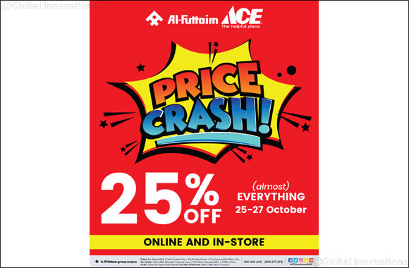 Al-Futtaim ACE PRICE CRASH offer