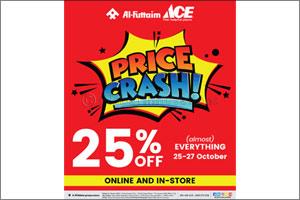 Al-Futtaim ACE PRICE CRASH offer