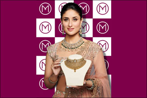 Bollywood Star Kareena Kapoor Khan launches the new festive jewellery collection of Malabar Gold & D ...