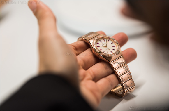 """Four leading ladies join OMEGA in Shanghai for the launch of the new Constellation """"Manhattan"""""""