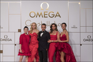 Four leading ladies join OMEGA in Shanghai for the launch of the new Constellation �Manhattan�