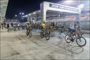 UAE National Cycling Team Attends Cycle Unified to Support Special Olympics
