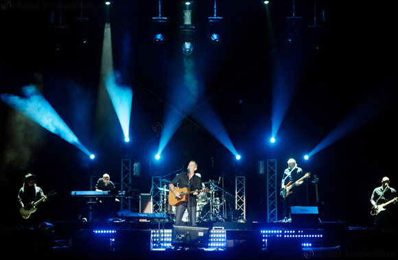 World singer Garou in Dubai as part of his 20 Year Jubilee tour
