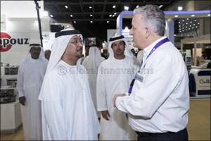 H.E. Dawood Al Hajiri Opens Gulfhost 2018 and Trio of Bespoke Food Shows at Dubai World Trade Centre