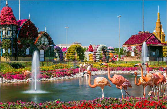 Dubai Miracle Garden becomes home to floral structures of the iconic Disney characters