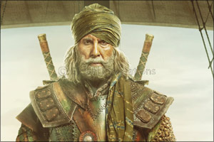Decoding Amitabh Bachchan's warrior look in Thugs of Hindostan