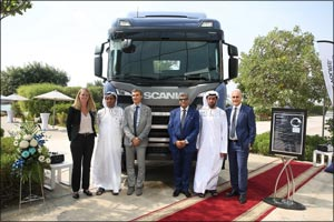 Scania's New Truck Generation Is Now in the Gulf