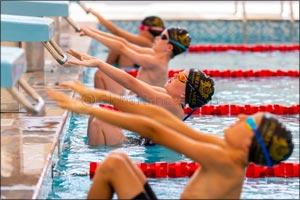 UAE Olympic Swimmer, Nada Al Bedwawi inaugurates Foremarke's New Swimming Pool