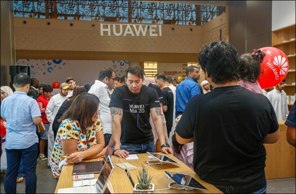 EROS GROUP expands its Brand Stores concept in  Partnership with Huawei