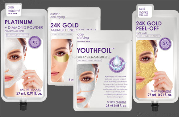 Glisten & Glow this Festive Season with Skin Republic Masks