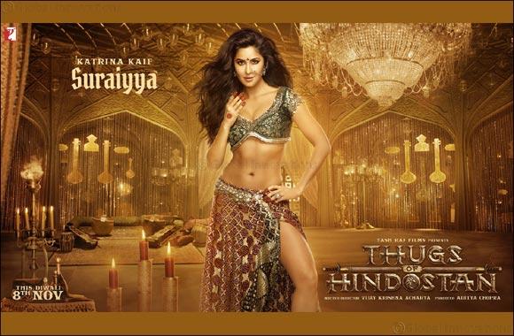 Presenting Katrina Kaif in her hottest desi avatar  as Suraiyya in Thugs of Hindostan