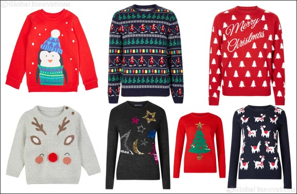 Must-have festive Christmas jumpers and tees for the whole family