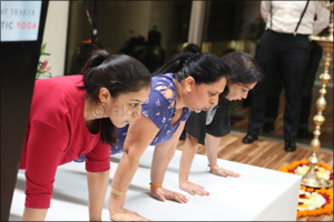 Bharat Thakur Artistic Yoga's Flagship Studio opens in Burjuman.