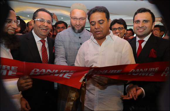 Dubai based Number 1 Home Interior Solutions Danube Home, launches in India with their 1st store in Hyderabad