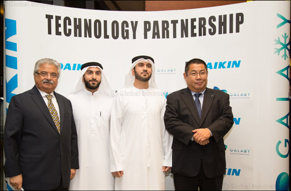 Daikin & Galaxy Cooling Technologies Showcase the New Cooling Range in UAE